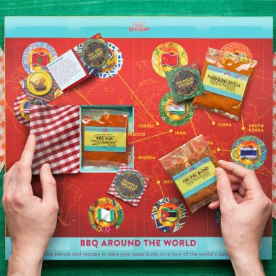 BBQ Around the World Giftbox - Pre-sale due to be sent mid-May