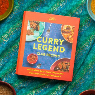 Curry Legend Recipe Folder