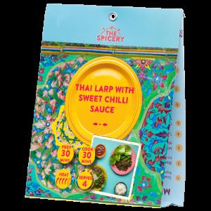 Thai Larp with Sweet Chilli Sauce