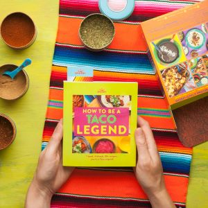How to be a Taco Legend Cookbook Kit