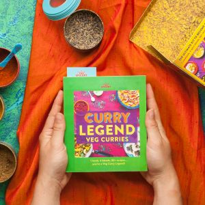 Curry Legend Veg Cookbook Kit - Pre-Sale due to be sent early April