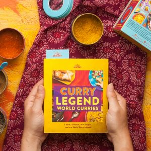 Curry Legend World Curries Cookbook Kit - Pre-Sale due to be sent early April