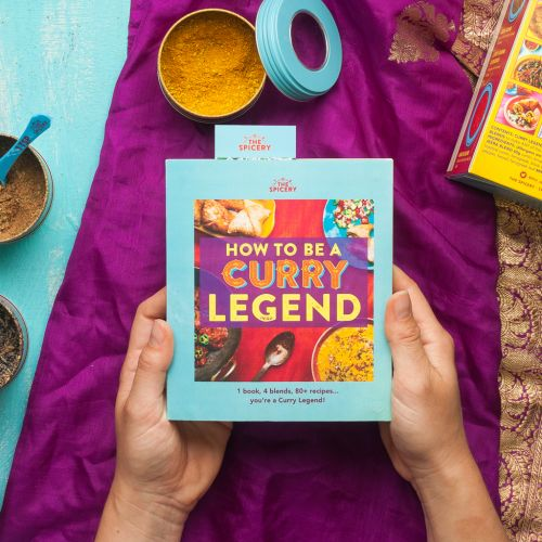 How to be a Curry Legend Cookbook Kit
