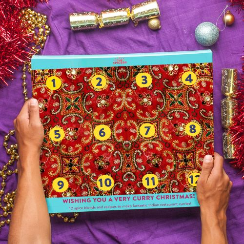 The 12 Curries of Christmas Advent Calendar