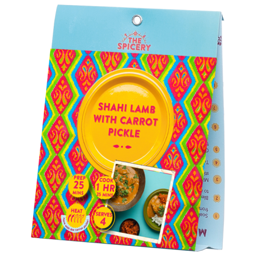 Shahi Lamb with Carrot Pickle