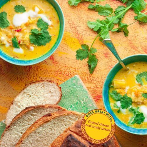 Curried Winter Veg Chowder