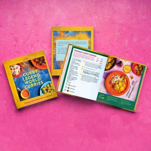 Curry Legend World Curries Cookbook (blends not included!) - SALE get 33% off!!