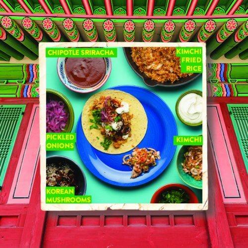 Korean Mushroom Tacos with Kimchi Fried Rice