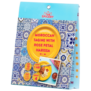 Moroccan Tagine with Rose Petal Harissa
