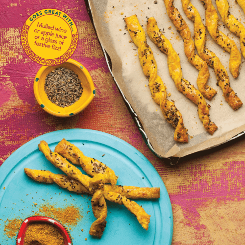 Curry Legend Cheese Straws